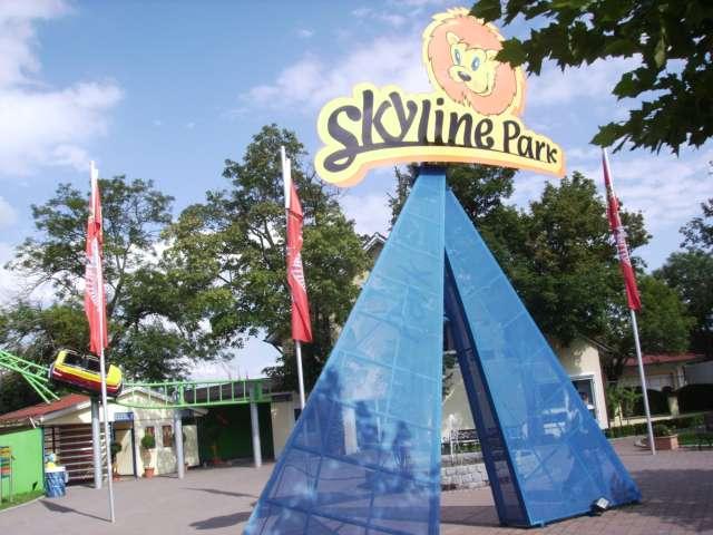Eingang Skylinepark